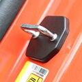 SHINEKA Auto Styling türschloss Dekoration Schutz Schnalle Abdeckung Trim Aufkleber Fit für Ford Mustang 2015 + Auto Zubehör