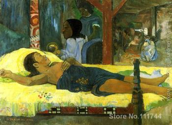 Geburt Christi des Gottessohnes  Paul Gauguin famous paintings oil canvas reproduction High quality Hand painted