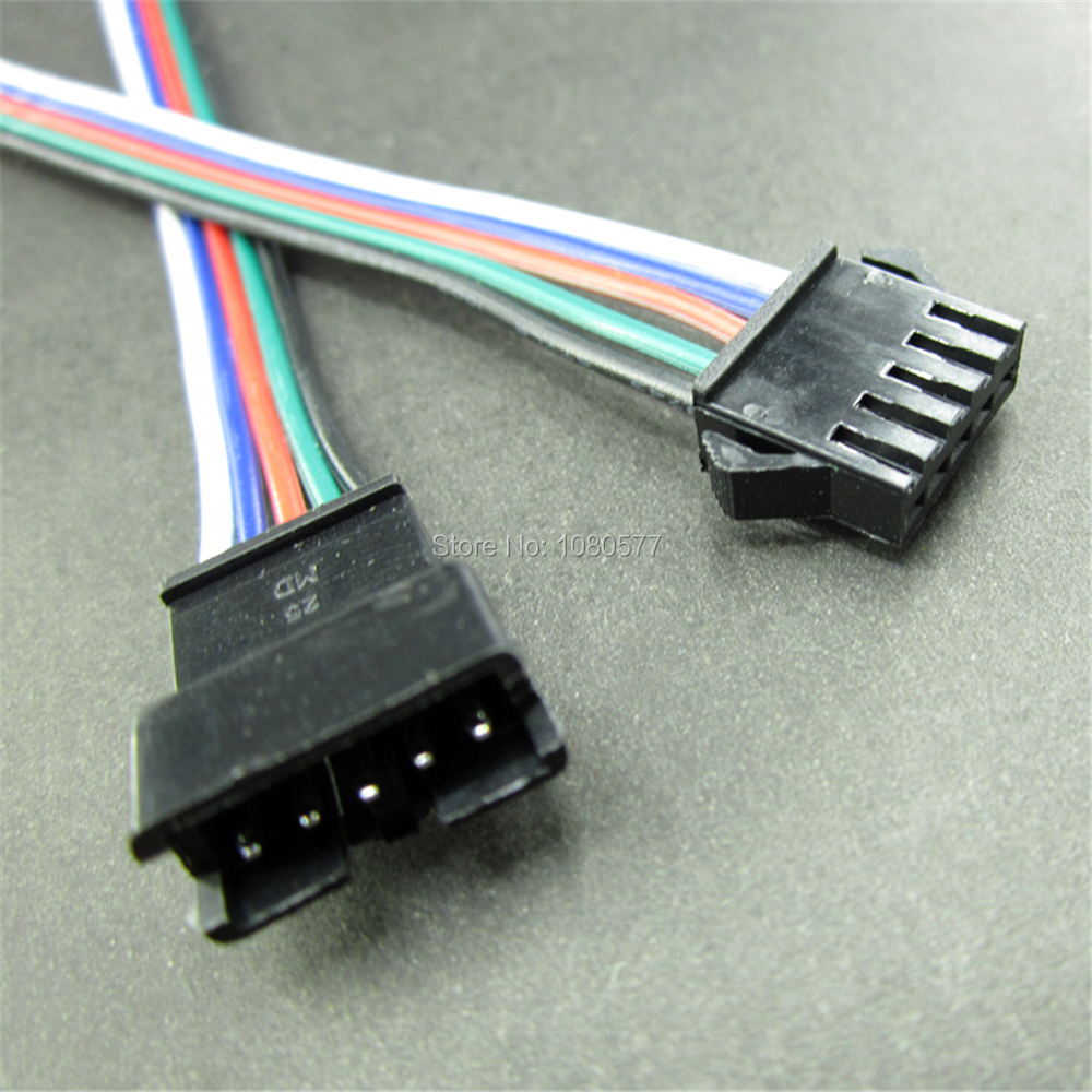 10Pairs 5pin led connector 15cm Male/female JST SM 5 Pin Plug Connectors Wire cable for led strip light Lamp tape Driver CCTV-in Connectors from ...