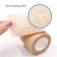 5CM*450CM Self Adhesive Elastic Bandage Non-woven Fabric Tape Protective Gear Knee Elbow Support Injury Pad