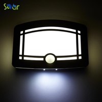 Aluminum Stick Anywhere Bright Motion Senso Activated LED Wall Sconce Night Light Auto On Off For