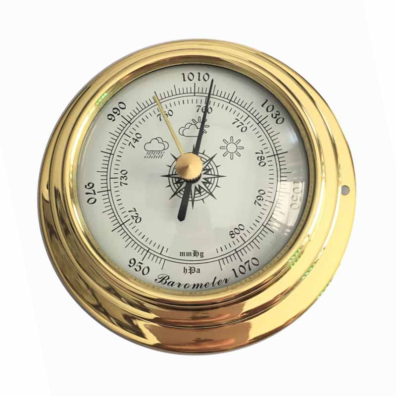 Free Shipping B9193 New Arrival Multifunctional Household Weather Station Aneroid Barometer
