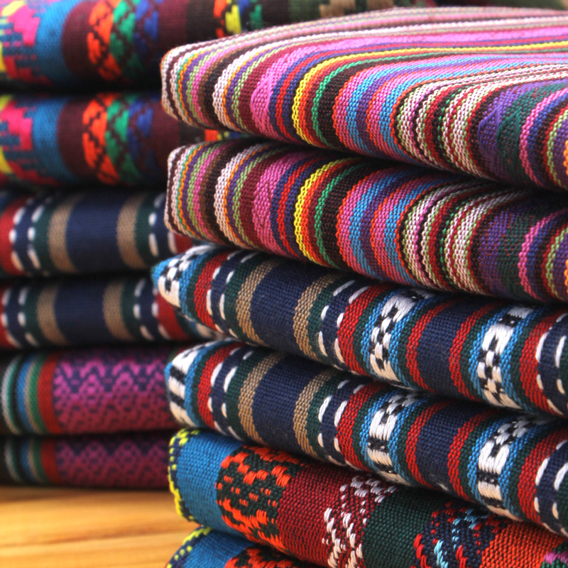 5 meters lot wholesale ethnic fabric for sewing li jiang for Bulk sewing material
