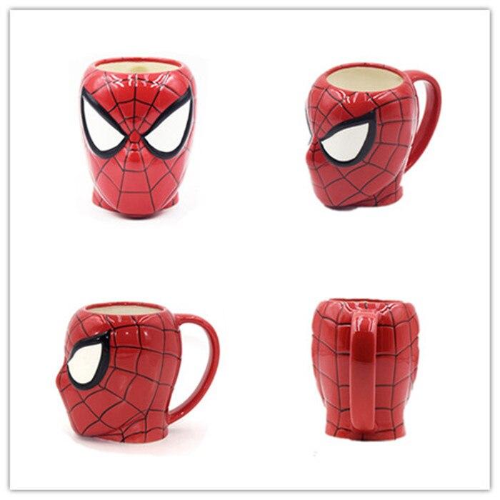 Marvel-spider-man-coffee-mugs-Avengers-cups-and-mugs-cartoon-fuuny-mark-drinkware_