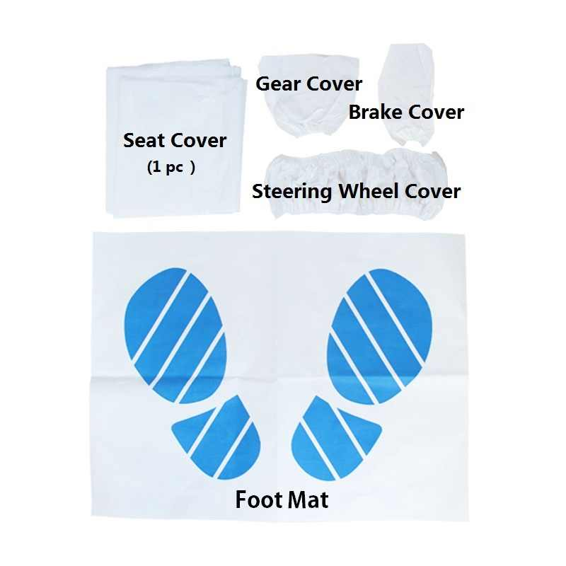 Detail Feedback Questions About 1pack Disposable Car Seat Cover