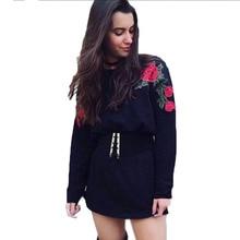 Fashion Women Long Sleeve Hoodie Sweatshirt Jumper