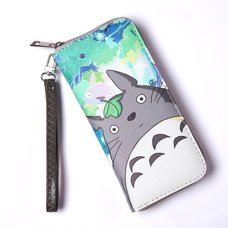 Cartoon Long Wallet Coin Zipper Pocket Fashion Kawaii Desig Character Totoro/Minions/Super Mario/Sofia The First Wallets