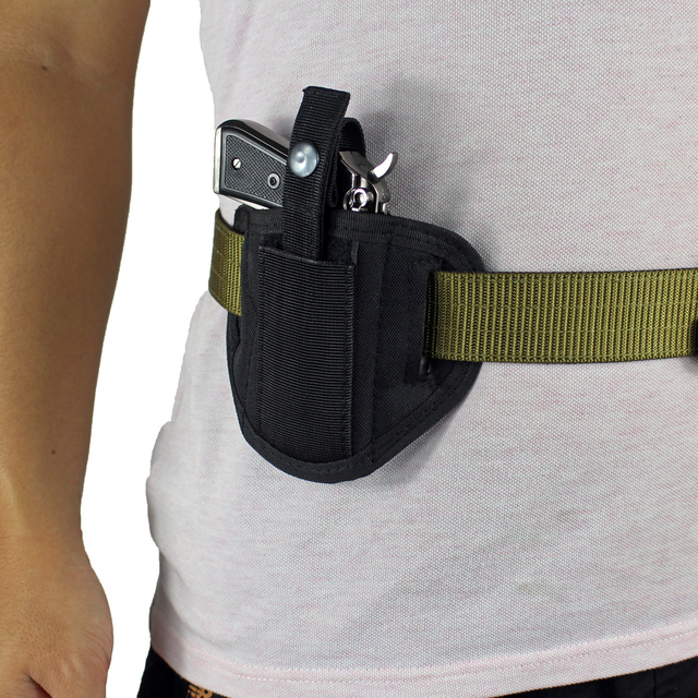 6 Position Ambidextrous Concealment Holster for Compact Subcompact Handguns Concealed Belt Holster for Right Left Hand Draw 1