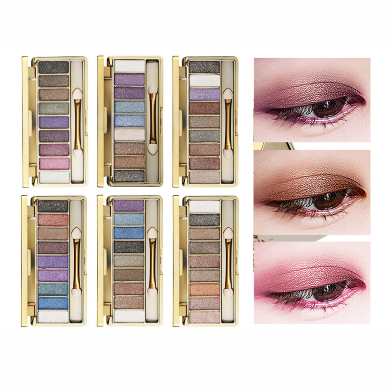 Beauty Essentials Creative Professional Eye Shadow Maquillage 9 Colors Diamond Bright Makeup Eyeshadow Smoky Palette Make Up Set To Enjoy High Reputation At Home And Abroad