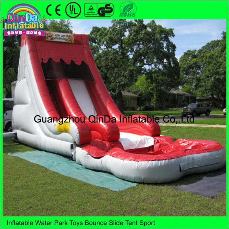 Custom commercial party rentals double inflatable water slides bounce house rental ...