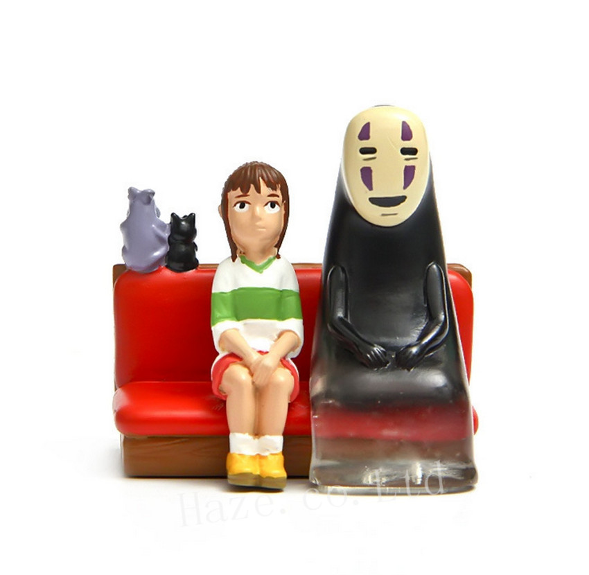 Anime Spirited Away No Face Faceless Resin Figure Figurine 2''