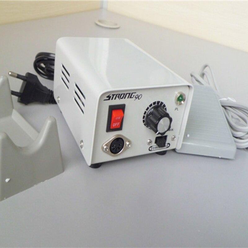 1 Piece Original South Korea Dental Lab Equipment Polisher Micromotor Strong90 Micromotor Control Box Main Machine For Polishing