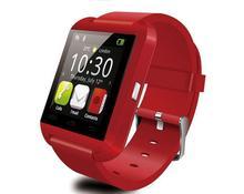Fabrik einzelhandel 1 stücke Bluetooth Smartwatch Armbanduhr U uhr U8 smart uhr Höhenmesser für iPhone 6 Samsung HTC Android-Handy nur