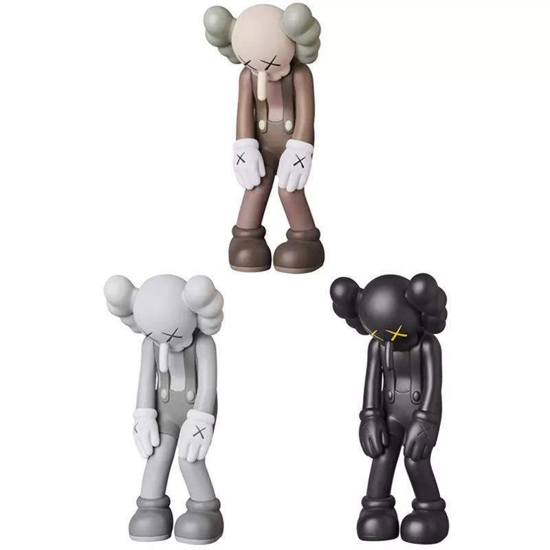 67ce2408 Servwell 28cm KAWS Little Lie Fake BFF Street Art PVC Action Figure Doll  Collectible Model Toys