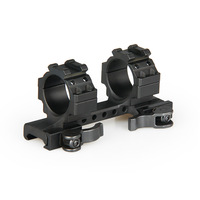 PPT 30mm Aluminum Double Ring Scope Mount Quick Detachable Mount For Picatinny Rail Weaver Mount 21.2mm gs22 0240