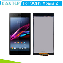 Original Brand Black TFT IPS 1920×1080 For SONY Xperia Ultra Z XL39h LCD Display with Touch Screen Digitizer Assembly