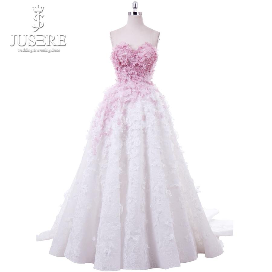 Lovely Sweetheart Butterfly Appliques A line Dying Pink Lace Long Prom Dress Party Gowns Vestido de Festa Longo 2018 Pleated