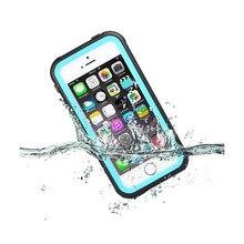 Boîtier étanche Pour Apple iPhone 5/5S/SE Durable Antichoc Neige Dirt Preuve Cas de Téléphone Extérieure Couverture Fundas w/Emballage de Détail