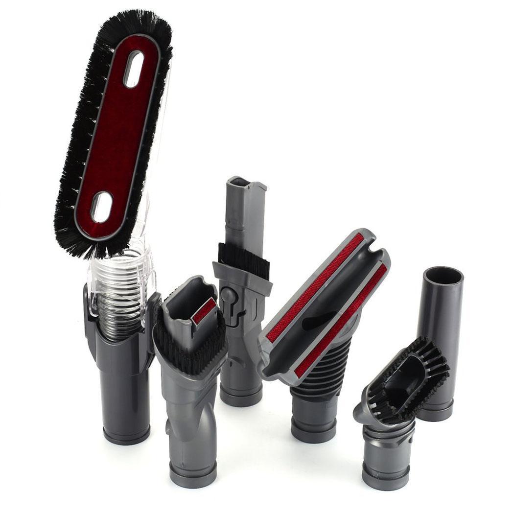 Multi-purpose 6Pcs/set Vacuum Cleaner brush adapter for dyson DC35 DC45 DC52/58 V6 vacuum cleaner partsMulti-purpose 6Pcs/set Vacuum Cleaner brush adapter for dyson DC35 DC45 DC52/58 V6 vacuum cleaner parts