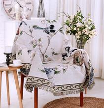 Американский пейзажа трикотажные Пледы Одеяло утолщение садовые Одеяло Пледы Дом Обложка чистый дом кровать диван fg443
