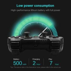 Image 3 - DATA FROG 2,4G беспроводной геймпад для PS3/PS2 игровой джойстик геймпад для ПК джойстик игровой контроллер для Android смартфон/ТВ коробка