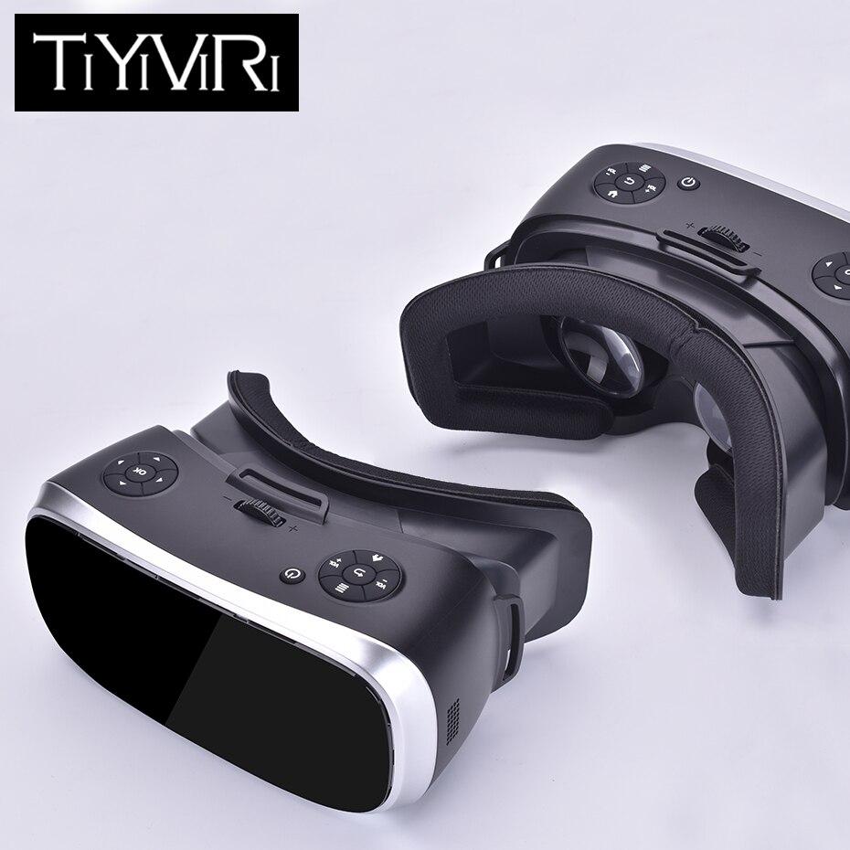 3D VR Occhiali VR All In One di Realtà Virtuale 3D Occhiali Regolazione Coinvolgente 5.0 pollici Per Android HDMI 2 K per PS 4 Xbox 360/One