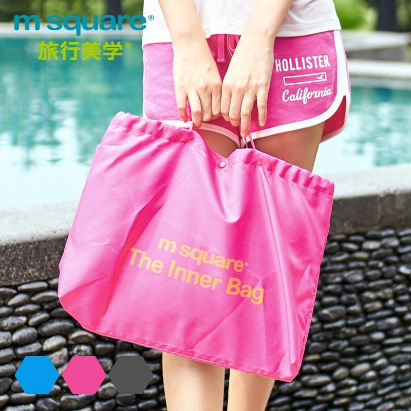M Square Travel PVC ხელჩანთა ქალთა - ჩანთები - ფოტო 3