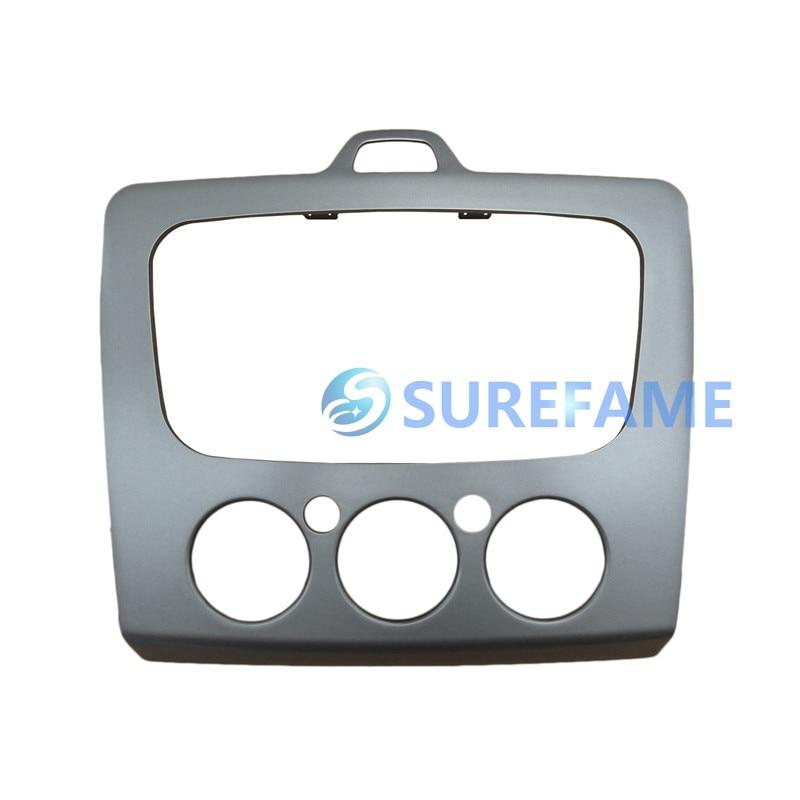 Двойной Дин Радио adater комплект для Форда Фокус Комбинации DVD тире отделкой Панель фасции Переходная адаптер ободок