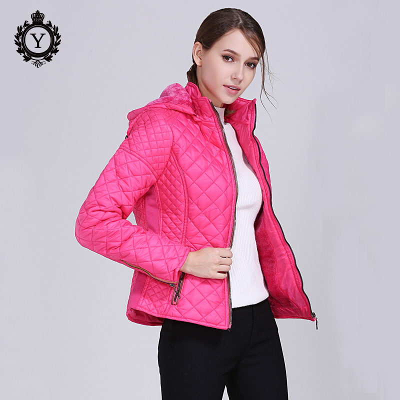 COUTUDI 2018 New Spring Jacket Parka Women Winter Coat Women's Warm Outwear Jacket Thin Cotton-Padded Jackets Coats High Quality cir плитка cir via emilia nero 1525011 195