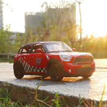 1:32 Minicar Model Exquisite Gift Collection Alloy Simulation Shape Sound Effect  Flashing Light Car Toys for Boys