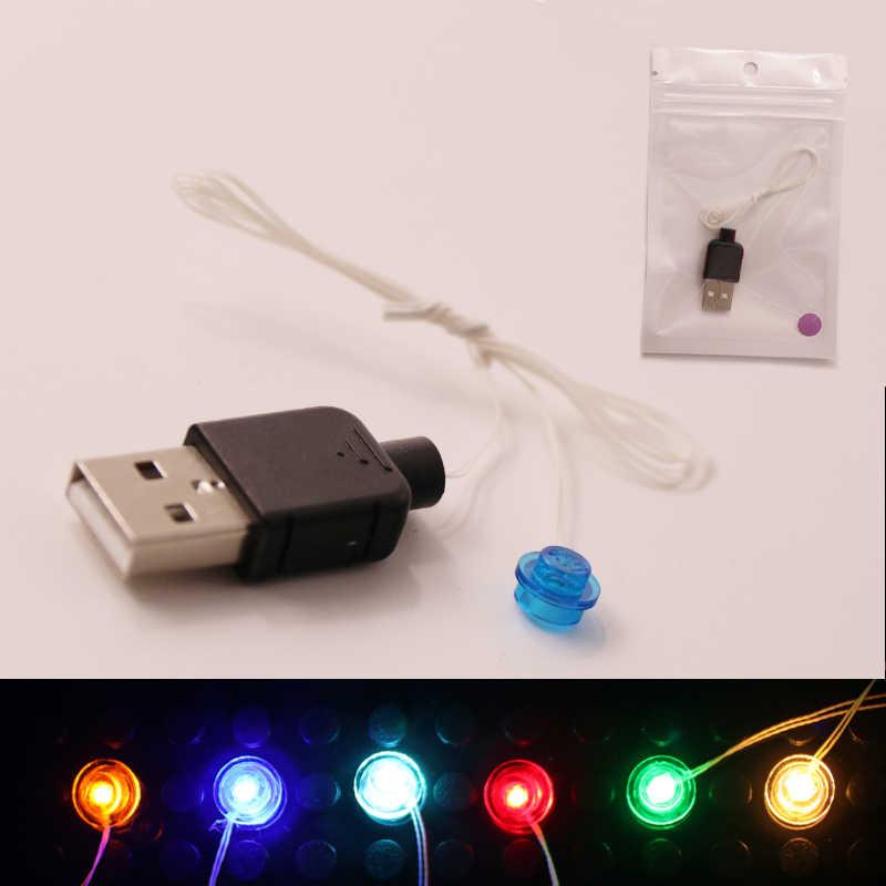 Zestaw światła led Creator House DIY zabawki fajne klocki do budowy ulica miasta pojedyncza lampa opakowanie na baterie USB do lego zabawki dla dzieci prezent