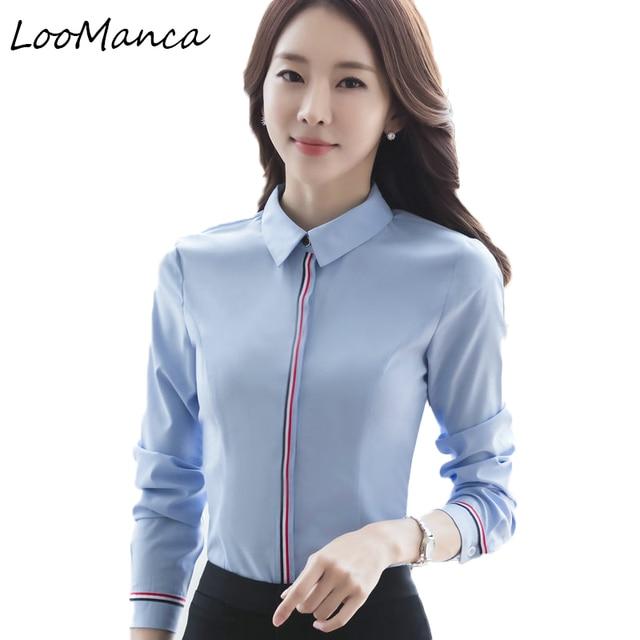 49e7c026e1d Plus Size 4XL 5XL elegant formal shirt women Spring Autumn Patchwork long- sleeve chiffon blouse offce ladies work wear tops