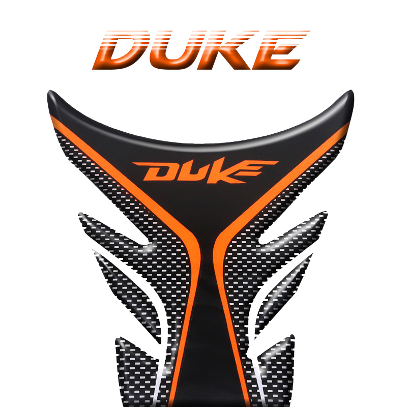 MOTO Racing Decal Stickers Fish Bone For KTM DUKE 125 200 390 690 790 1290 Super 1080 1050 Motorcycle Gas Tank Pad Protector