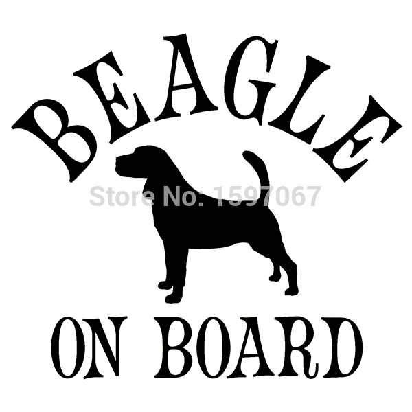 Beagle On Board Dog Sticker For Car Truck Window Door Laptop Kayak Etc Puppy Vinyl Decal 8 Colors horse riding sticker for car rear windshield truck suv bumper auto door laptop kayak canoe art wall die cut vinyl decal 8 colors