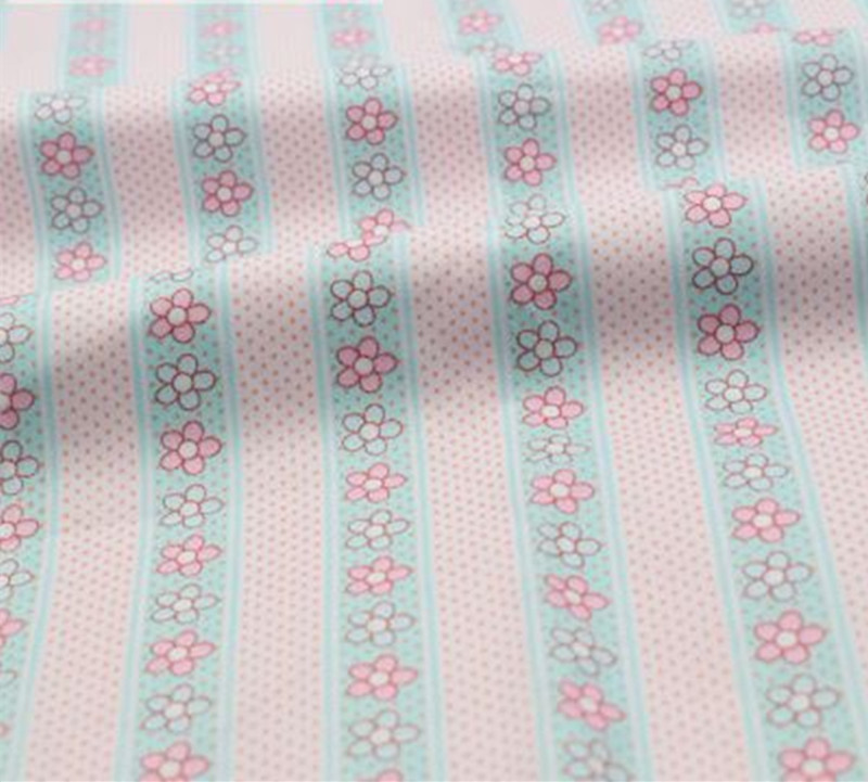 1 meter Pure Cotton Twill Fabric With Color icecream, Baby Patchwork Quilts Cushions Pillows Cover Handicraft Sewing Tissues 892