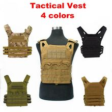 600D Molle Tactical Vest Simplified Version Military Protective Plate Carrier Plate Carrier Vest Ammo Magazine Body Armor wolf enemy ultralight ballistic plate carrier quick release police swat vest tactical ballistic armor plate carrier vest