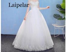 Laipelar Dress Elastic Waist Women Spring A-line Lace Up Flare Sleeve Bohemian Femme Vestidos 2019