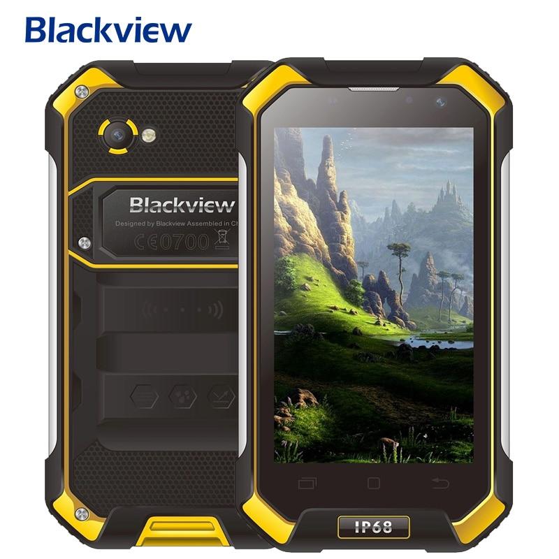Цена за Blackview BV6000 Android 6.0 Смартфон 4.7 дюймов IPS Экран Телефона 3 ГБ RAM 32 ГБ MTK6755 Окта основные 2.0 ГГц Dual SIM ROM 4 Г OTG NFC