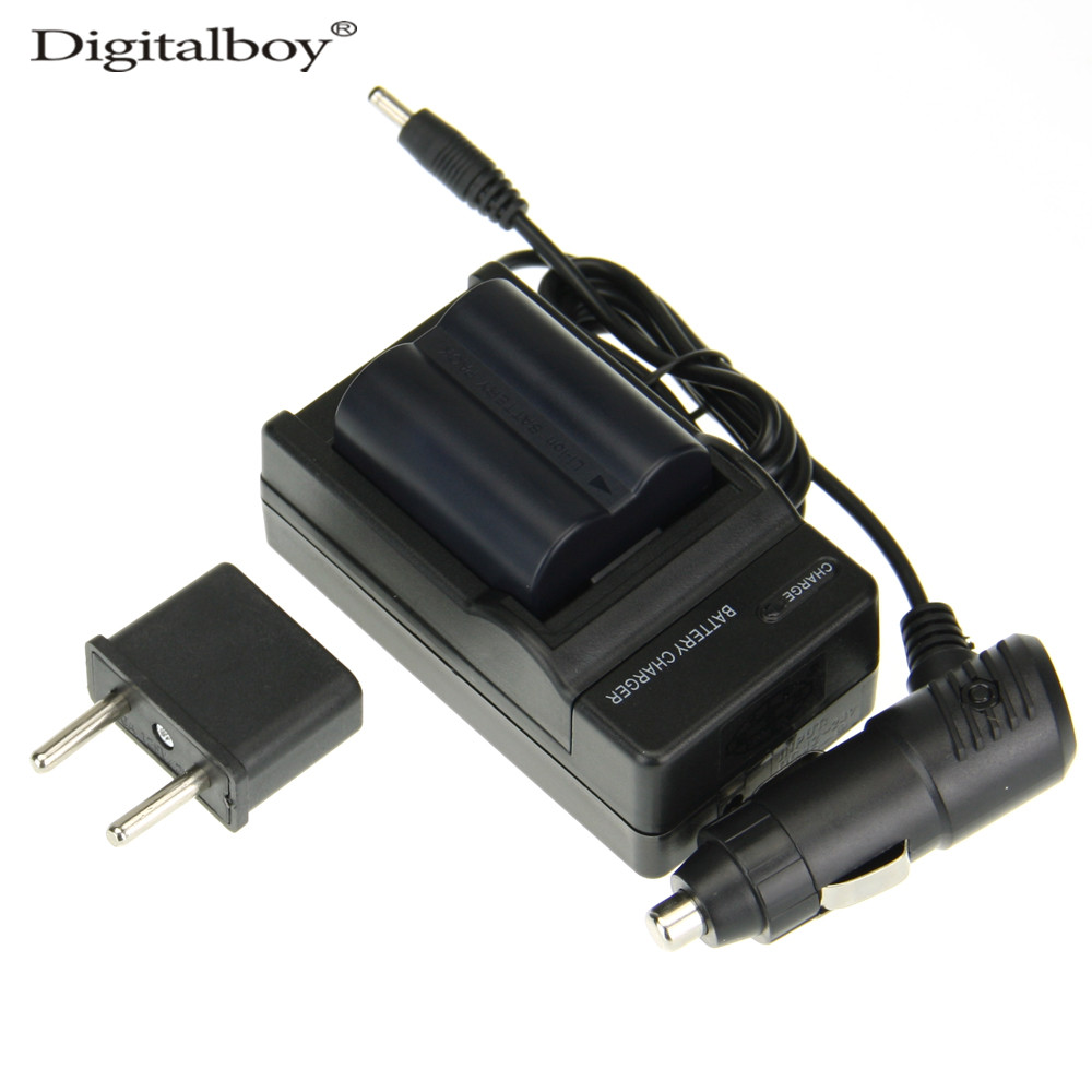 4PCS/Set CGA-S006E CGRS006A CGR-S006E CGR-S006A/1B BP-DC5U Camera Battery+Charger+Car Charger+Plug For PANASONIC Lumix DMC