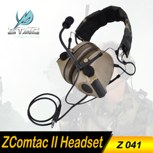 (Z 041) Elemen Earphone Z-Taktis Comtac II Headset Airsoft Paintball Berburu Headset Taktis Headset