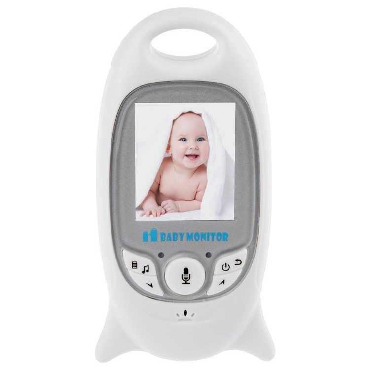 Младенческой Беспроводной видео Baby радионяня Цифровой для сна Monitor Audio Ночное видение Температура мониторинга радио няня