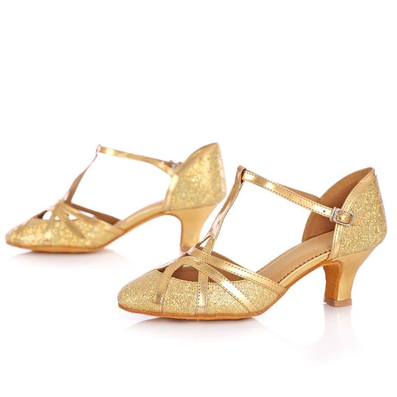 İsti qadınlar üçün balo tango salsa latın rəqs ayaqqabıları - İdman ayaqqabıları - Fotoqrafiya 3