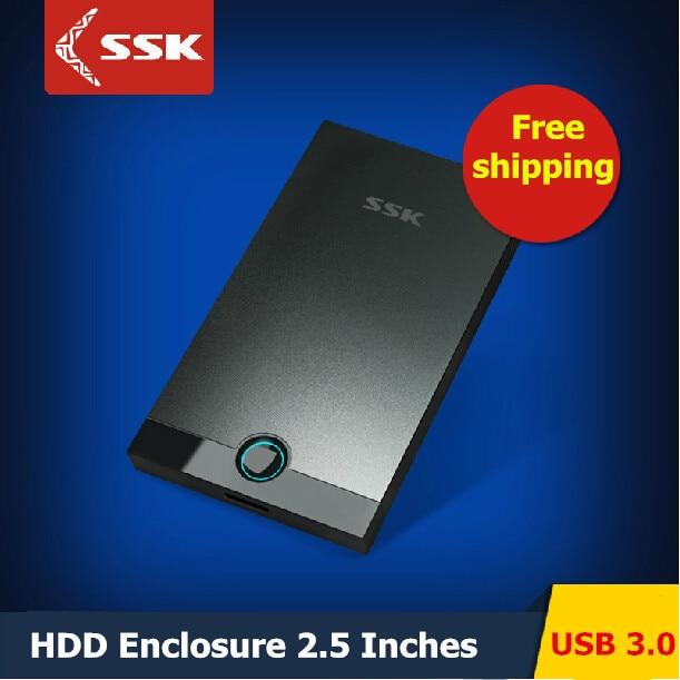SSK SHE085 USB 3.0 HDD Enclosure 2.5 Inch SATA HDD CASE Serial port hard disk box External Harddisk HDD Enclosure