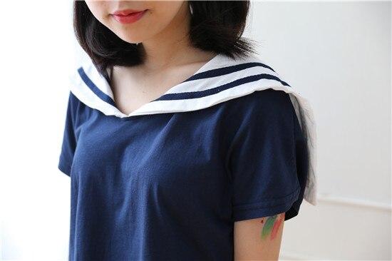 3cca33937 € 22.51 |Cuello de equipo Salir de Tops camiseta del verano 2016 marca  japonesa Kawaii ropa Pretty estilo de la camiseta Girs Lolita camisa en ...