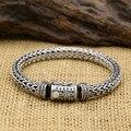 58.7G Alibaba Express 925 Sterling Silver Jewelry Bracelets for Women Men Vintage S925 Solid Thai Silver Chain Bracelets
