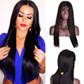Indian Straight Lace Front Wig Full Lace Wigs Human Hair With Baby Hair Lace Front Human Hair Wigs For Black Women Frontal Wigs