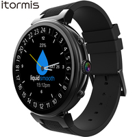 ITORMIS Android 5.1 Умные Смарт часы smartwatch наручные часы MTK6580 16G Встроенная память 8G Оперативная память 3G SIM Wi Fi спорт Фитнес 2MP Камера GPS сердечного ри