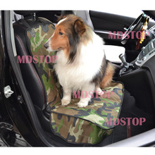 2017 New Cheap Universal Camouflage Car Front Single Seat Cover for Dog Pets Waterproof Seat Bench Protector Sedile Posteriore
