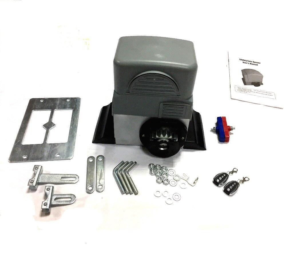 купить Full Complete Set For Popular Intelligent Automatic Sliding Gate Operator Door Closer по цене 11423.58 рублей