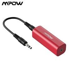 Miniaislador de ruido portátil Mpow MA1 para coche, sistema de audio estéreo, reductor de ruido, funciona con receptor Bluetooth